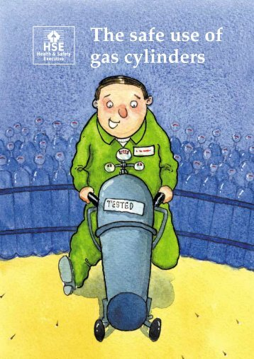 INDG308 - The safe use of gas cylinders