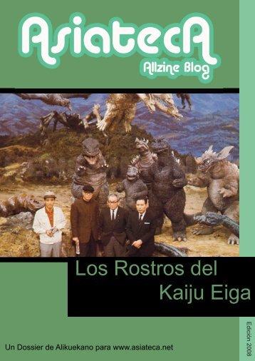 Los Rostros del Kaiju Eiga - Asiateca