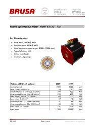 Hybrid Synchronous Motor HSM1-6.17.12 - C01