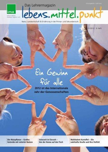 i.m.a Lehrermagazin lebens.mittel.punkt - information.medien.agrar eV