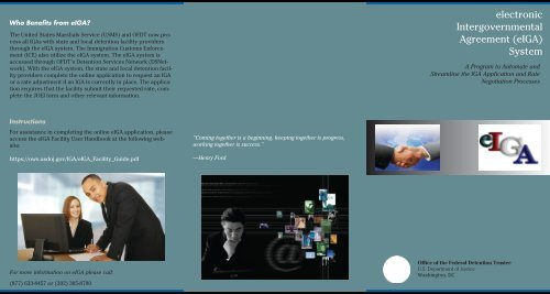 eIGA Brochure - Department of Justice