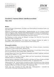 Lieselotte E. Saurma-Jeltsch - Institut für Europäische Kunstgeschichte