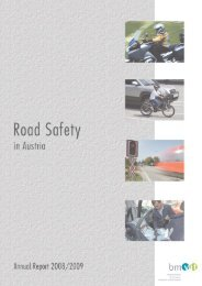 Road Safety in Austria - Annual Report 2008/2009