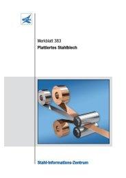 Merkblatt 383: Plattiertes Stahlblech - Stahl-Informations-Zentrum