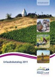 Accomodation Directory - Urlaubsregion Alzeyer Land