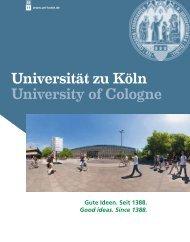 Uni-Imagebroschüre (PDF) - Universität zu Köln