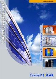 PROLine - Eisenbeiss Solar AG