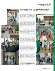August 2009 - Architektenkammer des Saarlandes