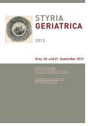 STYRIA GERIATRICA - Medizin Akademie