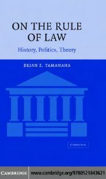 on-the-rule-of-law
