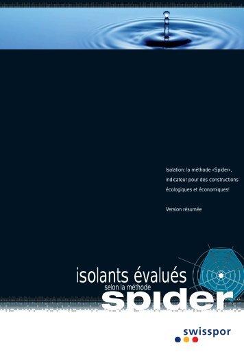 isolants évalués