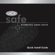Downloads Quick Install Guide - LaCie