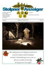 Stolpner Anzeiger 12/10 - Stolpen