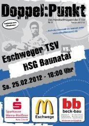 HSG Baunatal - Eschweger TSV