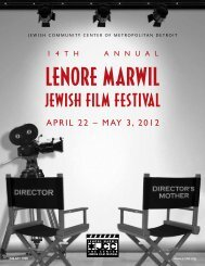 Download - Lenore Marwil 13th Annual Jewish Film Festival