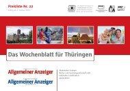 Das Wochenblatt für Thüringen
