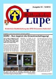 LUPE53-Online - SPD-Hallendorf
