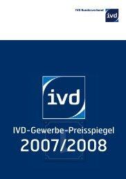IVD-Gewerbe-Preisspiegel