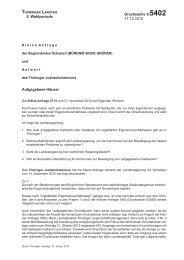 Aufgegebene Häuser - Grüne Landtagsfraktion Thüringen