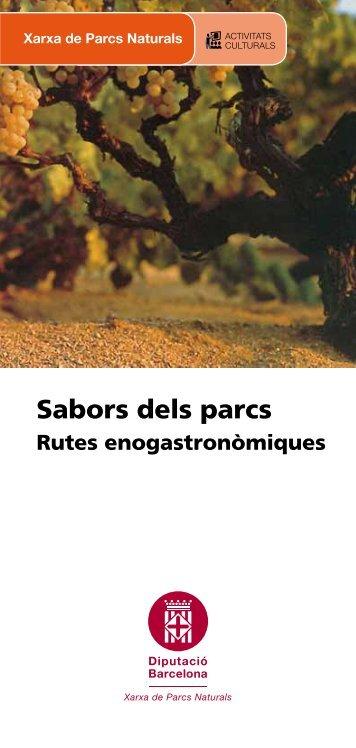 Rutes enogastronòmiques.pdf - Diputació de Barcelona