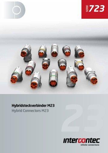 Hybridsteckverbinder M23 Hybrid Connectors M23 - AP Technology