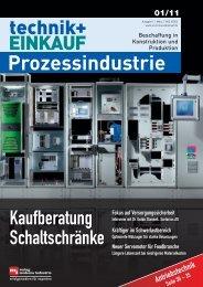 Ausgabe 1 / 2011 – Sonderheft Prozessindustrie - technik + EINKAUF