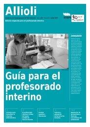 Guía para el profesorado interino - Intersindical Valenciana