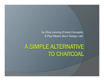 A Simple Alternative to Charcoal