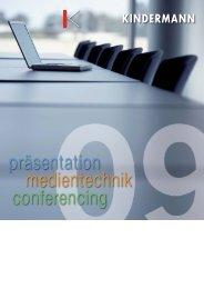 Katalog 2009 herunterladen - G+B Medientechnik