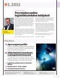 Elämän ja kuoleman logistiikka - Posten Logistik - Page 3