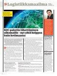 Elämän ja kuoleman logistiikka - Posten Logistik - Page 4
