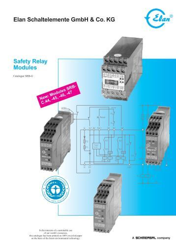 safety relay manual or automatic reset ue 43 2 mf Box Type Relay Equipment Manuals