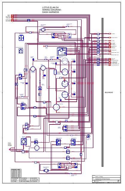 5 5 4 LOTUS ELAN S4 WIRIN Pwr Switch Lights Amp Wiring Diagrams on