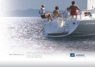 Impression 344 - Brochure - Bill MacKay Elan Yachts