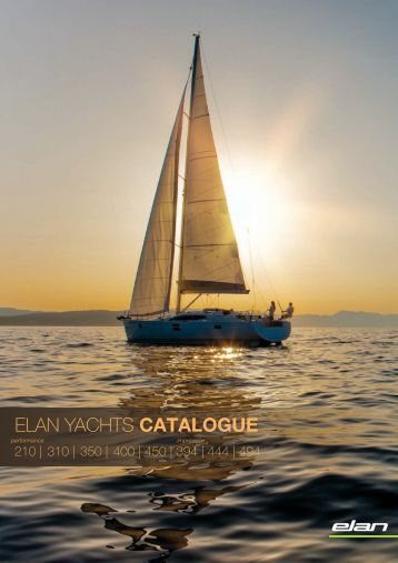 Elan Yachts Catalogue