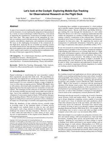 Weibel et al., 2012 - UCSD Cognitive Science