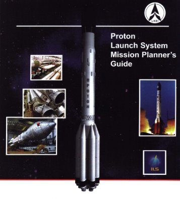 proton launch vehicle mission planner's guide