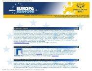 Un patto per l'Europa Questioni che ci riguardano FORUM PA - Aiccre