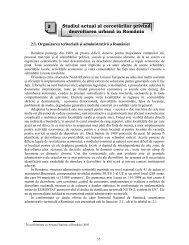 2 Stadiul actual al cercetărilor privind dezvoltarea urbană în România