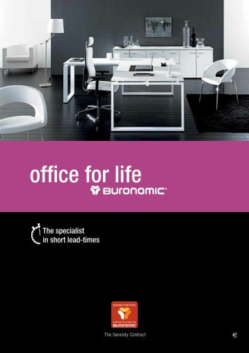 buronomic catalogue - Professionalofficeinteriors.com