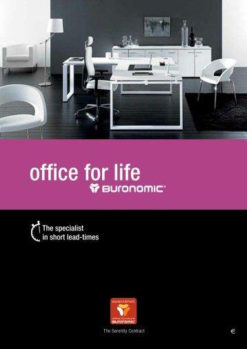 buronomic catalogue - Professionalofficeinteriors.com