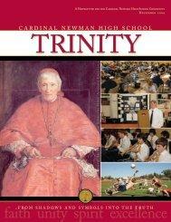 faith unity spirit excellence - Cardinal Newman High School