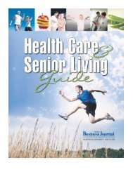 Health Care & Senior Living Guide - North Bay Business Journal