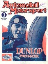 Automobil motorsport 1927 2. évfolyam 3. szám - EPA