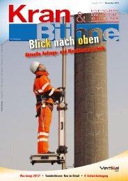 Die komplette Kran & Bühne Ausgabe in einer - Vertikal.net