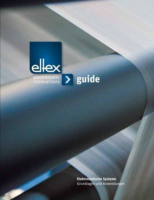Elektrostatische Systeme Grundlagen und Anwendungen - Eltex