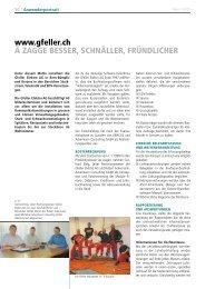 Elektro Gfeller AG setzt seit 1999 auf ABACUS - Ackermann ...