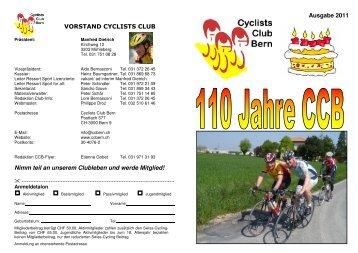 Ausgabe 2011 - Cyclists-Club Bern