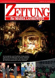 4. Ausgabe 2012 Maria Lankowitz