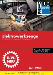 Elektrowerkzeuge e - EW NEU GmbH